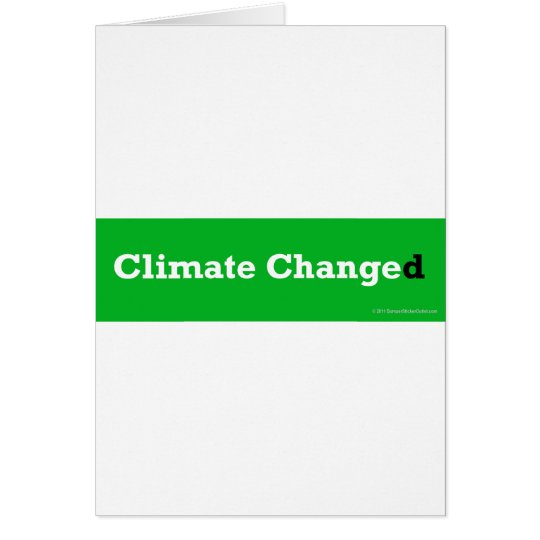 Climate-changed Card