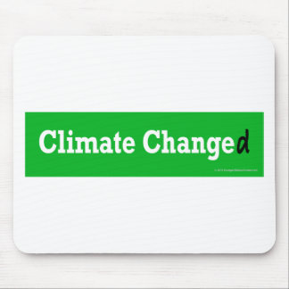 Climate Changed Mouse Pads