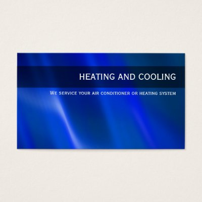 Heating cooling air conditioning hvac business card zazzle colourmoves