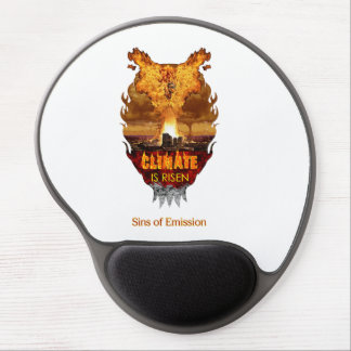 """""""Climate is Risen"""" Gel Mouse Pad"""