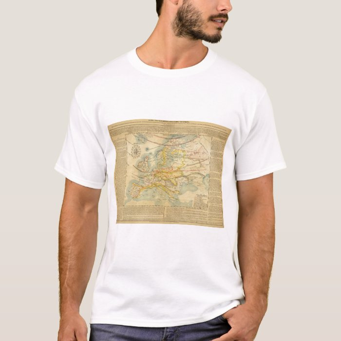 Climate of Europe Map T-Shirt