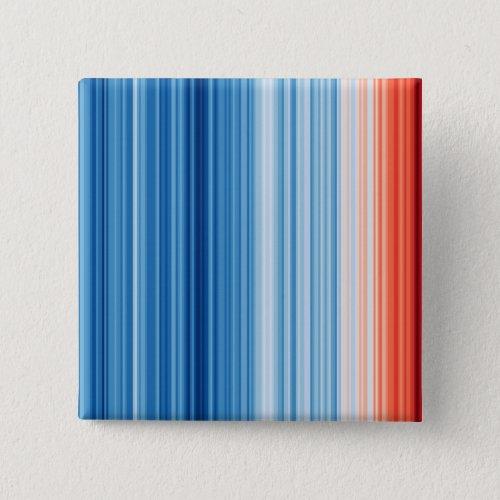 Climate Stripes Badge Button