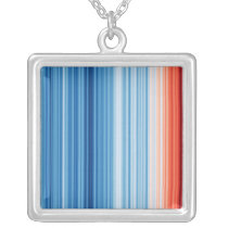 Climate Stripes Necklace