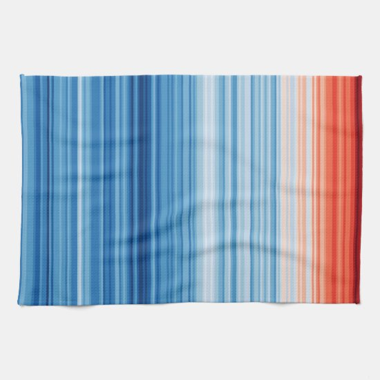 Climate Stripes Tea Towel