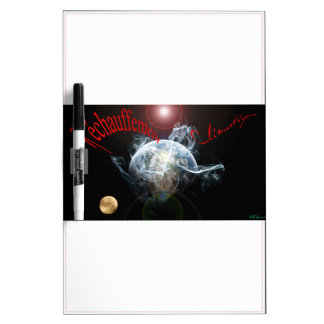 Climate warming Dry-Erase board