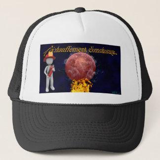 Climate warming trucker hat