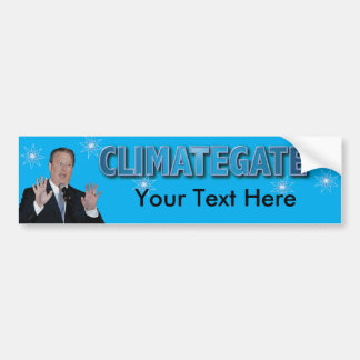 Climategate Bump1, Custom Car Bumper Sticker