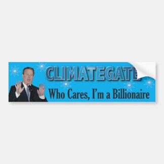 Climategate Bump2 Pegatina Para Auto