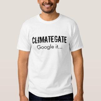 ClimateGate Google él… Remeras