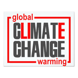 ClimateGate, lie, climate change, global warming Card