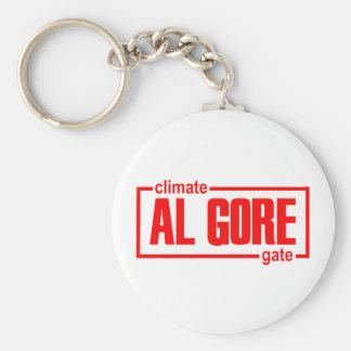 ClimateGate, lie, climate change, global warming Keychain