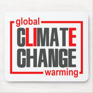ClimateGate, lie, climate change, global warming Mouse Pad