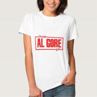 ClimateGate, lie, climate change, global warming T Shirt