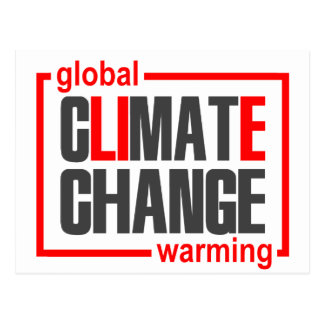ClimateGate, mentira, cambio de clima, Tarjeta Postal