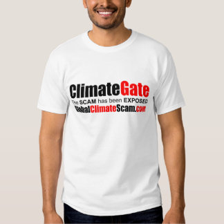 ClimateGate Playera