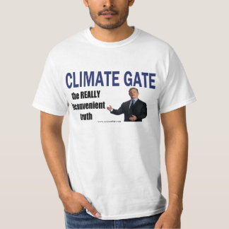 CLIMATEGATE: Really Inconvenient Truth T-Shirt