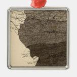Climatological map, Illinois Christmas Ornament