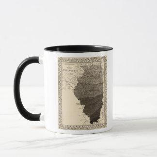 Climatological map, Illinois Mug