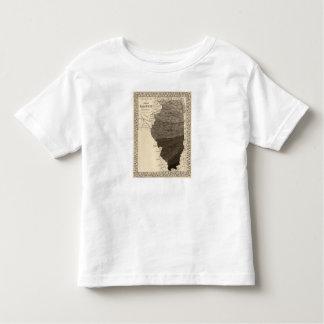 Climatological map, Illinois T Shirt