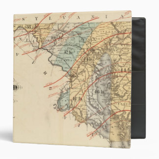 Climatological map of the State of Maryland Vinyl Binders