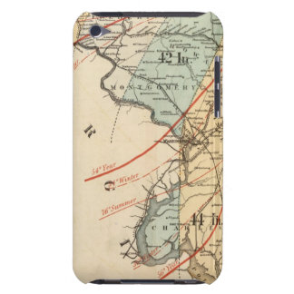 Climatological map of the State of Maryland iPod Touch Case-Mate Case