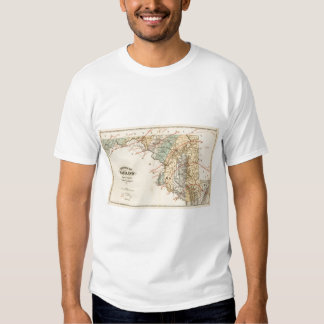 Climatological map of the State of Maryland Shirt