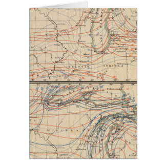 Climatology of Michigan Atlas Mao Card