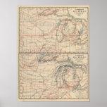 Climatology of Michigan Atlas Mao Poster