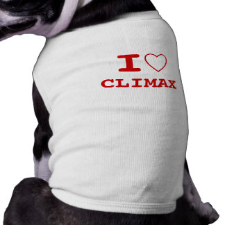 Climax I heart (love) Pet Clothing