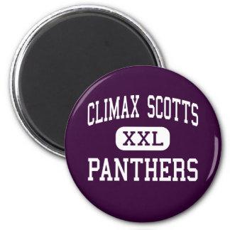 Clímax Scotts - panteras - alto - clímax Michigan Imán Para Frigorifico