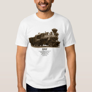 Climax Steam Locomotive Shirt