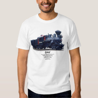Climax Steam Locomotive T-shirt