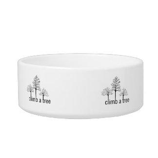 Climb a tree design bowl