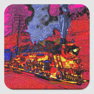 Climb Aboard the Hellbound Train!  I couldn't slee Square Sticker