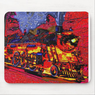 Climb Aboard the Hellbound Train! Mouse Pad