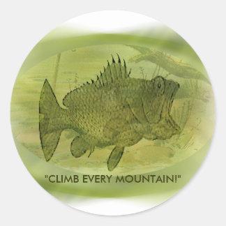 Climb Every Mountain Sticker