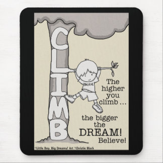 Climb Higher Mouse Pad