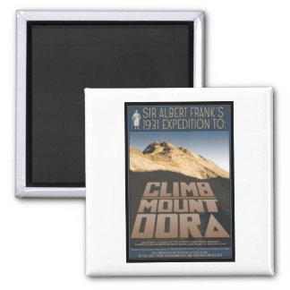 Climb Mount Dora magnet