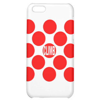 Climb Red Dot iPhone 5C Covers
