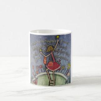 Climb to the threshold coffee mug