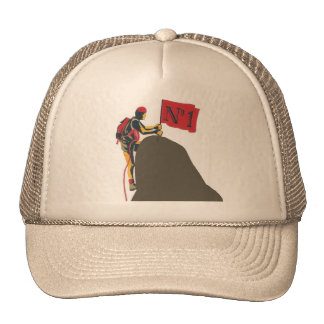 Climber, alpinist number 1 hats