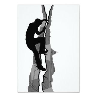 Climber Bouldering RSVP Card