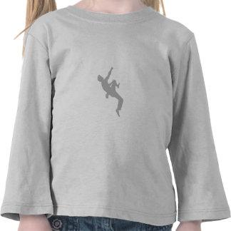 Climber silhouette shirt
