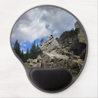 Climber - Weminuche Wilderness - Colorado Gel Mouse Pad