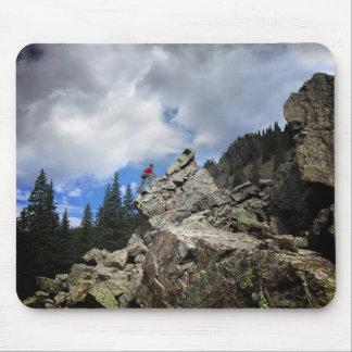 Climber - Weminuche Wilderness - Colorado Mouse Pad
