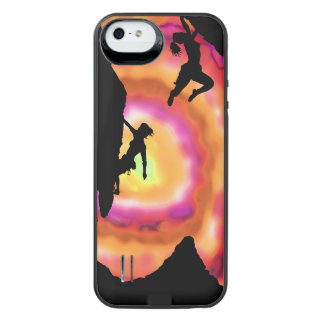 Climbers and Matterhorn iPhone 5/5s battery charge Uncommon Power Gallery™ iPhone 5 Battery Case