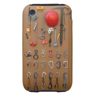 Climber's Equipment -- Mountain Climbing Gear iPhone 3 Tough Cases