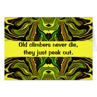 climbers humor card