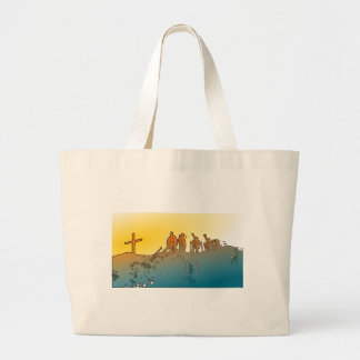 Climbers_on_Summit.png Tote Bags
