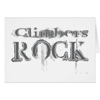 Climbers Rock Card